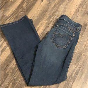 DKNY SOHO Bootcut Jean Size 4S